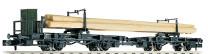 Fleischmann 822301 N 2-teilig Drehschemelwagen bel