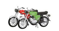 KRES 11151 TT 2er-Set Moped S 51 rot/grün