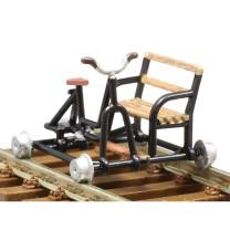 KRES 22200 H0 Bausatz 2-teilig Schienenfahrrad