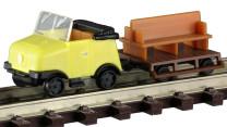 KRES 88805 N Bausatz Schienentrabi / Anhänger