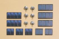 Auhagen 41651 N Sat-Anlagen Solarkollektoren