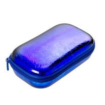 ZIPIT Metallic Box blau