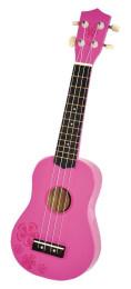 Mini Gitarre Ukulele pink