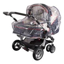 SunnyBaby Regenverdeck Zwillingskinderwagen