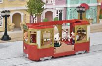 Sylvanian Families Stadt-Straßenbahn