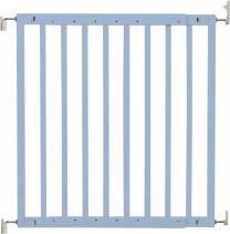 badabulle Holz-Türschutzgitter Blau-Grau