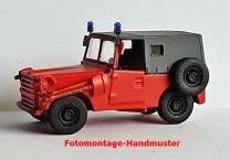NPE NA88711 TT IFA P3 Kübelwagen Feuerwehr