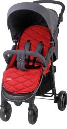 BABY MAX Sportkinderwagen Shopper Rot/Grau