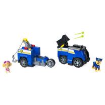 PAW Patrol 2in1 Split Second Fahrzeuge mit Figuren
