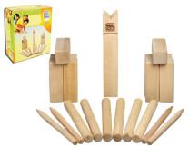 Kubb- Holzwurfspiel