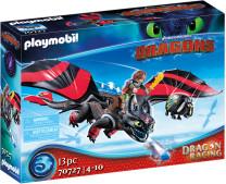 PLAYMOBIL 70727 Dragon Racing: Hicks und Ohnezahn
