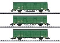 Minitrix T15312 N Güterwagen-Set Gex Teil 2 DR IV