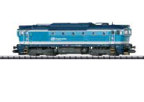 Minitrix T16738 N Diesellok 754 064-4 CD VI