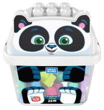 MEGA BLOKS Panda Bausteinbox 25-teilig