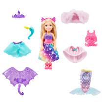 Barbie Dreamtopia Chelsea 3-in 1 Fantasie Puppe