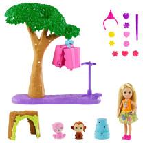 Barbie und Chelsea Dschungelabenteuer Pinataspaß