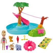 Barbie und Chelsea Dschungelabenteuer Dschungel