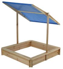 Sandkasten mit Dach