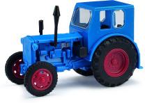 Mehlhose 210006401 H0 Traktor Pionier blau
