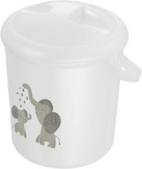 Rotho Babydesign BB Windeleimer weiß Elefanten