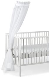 Sterntaler Himmel weiss für Kinderbett