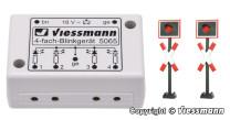 Viessmann 5801 N Andreaskreuze Blinkelektronik