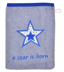 WÖRNER Südfrottier Waschhandschuh Star Born Royal