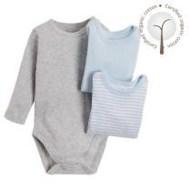 Baby Body Lang Arm 3er Pack für Jungen